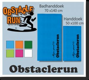 obstacle run sport badhanddoek
