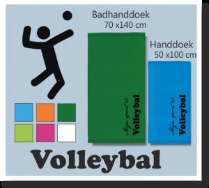 Volleybal sport badhanddoek