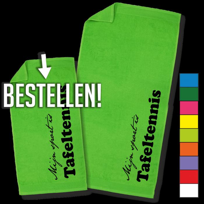 groene handdoek