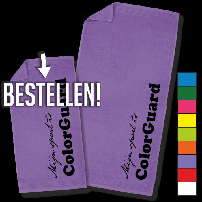 paarse handdoek ColorGuard handdoek